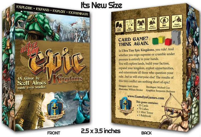《超小史诗王国 Ultra-Tiny Epic Kingdoms》KS众筹最后三天